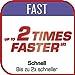 Tefal P4620733 Clipso Minut' Perfect Schnellkochtopf mit Garbkorb und Timer (6L) edelstahl/weiß/rot - 4