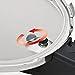 Fissler Schnellkochtopf Edelstahl vitaquick / 3.5 Liter Dampfkochtopf 22cm Durchmesser / Induktion, Gas, Ceran, Elektro / Farbe blau / - 600-300-03-000/0 -