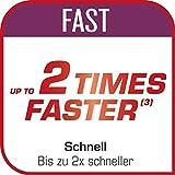 Tefal Clipso minut Duo Schnellkochtopf 5L, Aluminium, grau und rot - 8
