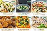 Onepot Multifunktionskocher mit 31 Kochprogrammen, Rührfunktion und 5L Füllmenge, schwarz-weiß - 9