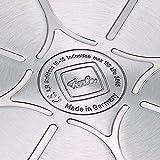 Fissler Schnellbratpfanne Edelstahl vitavit premium mit Deckel / 4 Liter / 26 cm Durchmesser / Induktion, Gas, Ceran, Elektro / 620-701-04-000/0 -