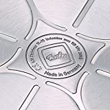 Fissler Schnellbratpfanne Edelstahl vitavit premium ohne Deckel / 2,5 Liter Schnellkochtopf 22 cm Durchmesser / Induktion, Gas, Ceran, Elektro / 620-301-02-100/0 -