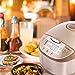Aigostar Golden Lion 30hgy Multifunktions-Küchenmaschine, mit Fassungsvermögen 5Liter, BPA-frei. Leistung 918W, 11programmierbare Funktionen in seinem großen Display LED, Deckel abnehmbar und waschbar, programmierbarer Timer und Warmhaltefunktion. Exklusives Design. - 2